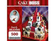 Cake Boss Sinfully Delicious 500 Piece Puzzle by Masterpieces Puzzle Co. 9SIV0W74VR1345