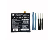 Genuine Original OEM Google Nexus 5 LG D820 D821 2300mAh Battery BL-T9 3.8V 8.74Wh – with Installation Tools