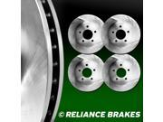 [2 FRONT + 2 REAR] Reliance *OE REPLACEMENT* Disc Brake Rotors  C1976
