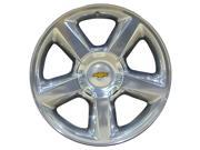 2007-2013 Chevrolet Avalanche 20x8.5 Aluminum Alloy Wheel, Rim Polished Full Face - 5308