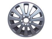 2004 2007 Volvo S40 OEM 16x6.5 Alloy Wheel Rim Sparkle Silver Full Face Painted 70290