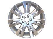 2010-2010 Mercedes-Benz S400 OEM  18x8.5 Alloy Wheel Bright Silver Metallic Pntd with Mach Face-85171