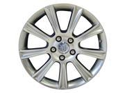 2008-2009 Buick Allure OEM  18x7 Alloy Wheel, Rim Bright Hypersilver Full Face Painted - 4084
