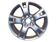 2009-2012 Toyota RAV4 OEM  17x7 Aluminum Alloy Wheel, Rim Silver Silver Full Face Painted - 69555