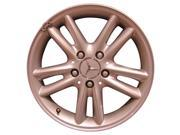 2002-2003 Mercedes-Benz C230 OEM  16x7 Alloy Wheel, Rim Bright Sparkle Silver Full Face Painted - 65260