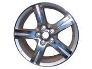 2008-2008 Toyota Camry OEM  17x7 Alloy Wheel Bright Sparkle Silver Pntd with Machined Face-99509