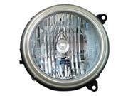 2002-2003 Jeep Liberty Passenger Side Right Head Lamp Lens and Housing 5101820AA,55155808AA-V