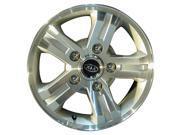 2003-2006 Kia Sorento OEM  16x7 Aluminum Alloy Wheel, Rim Bright Silver Full Face Painted - 74566