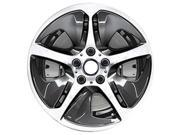 2011-2015 BMW 528i OEM  18x8 Alloy Wheel Left Charcoal Painted with Machined Face-71531