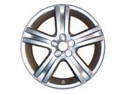 2009-2013 Toyota Corolla OEM  17x7 Alloy Wheel, Rim Medium Silver Sparkle Full Face Painted - 69541