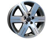 2006-2009 Volkswagen Beetle 16x6.5 Alloy Wheel, Rim Dark Charcoal Painted with Machined Face - 69814