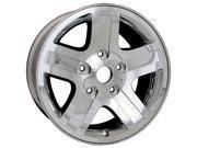 2006-2009 Dodge Durango 18x8 Aluminum Alloy Wheel, Rim Black Chrome Cladded Face - 2271