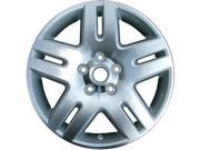 2006-2013 Chevrolet Impala 17x6.5 Alloy Wheel, Rim Sparkle Silver Painted with Machined Face - 5071