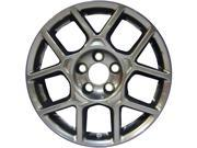 2007-2008 Acura TL OEM  17x8 Alloy Wheel, Rim Charcoal Full Face Painted - 71763