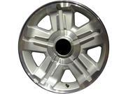 2007-2013 Chevrolet Silverado 1500 OEM  18x8 Alloy Wheel, Rim Sparkle Silver Painted with Machined Face - 5300