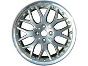 2003-2013 Mini Cooper OEM  17x7 Alloy Wheel, Rim Gray Charcoal Painted with Flange Cut - 59405