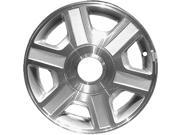2001-2002 Mercury Villager OEM  16x6 Alloy Wheel- Rim Sparkle Silver Painted with Machined Face - 3417