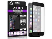 "Akiko iPhone 6 6s Plus [5.5""""] Screen Protector  2.5D Full Screen Tempered Glass Protector [Full Protection Cover w/ Curved Edge] -Black"" 9SIA7X957H3325"