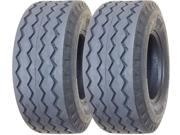 Set of 2 New ZEEMAX Heavy Duty 11L 16 Backhoe Implement Tires 12PR 11069