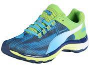 Puma Mens Mobium Elite Speed Running Shoes-Methyl Blue/Majolica Lime-10.5 9SIA7XJ46D3641