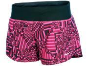"Nike Women's Dri-Fit Printed 4"""" Rival Running Shorts-Vivid Pink/Black-Small"" 9SIA7XJ53W8342"