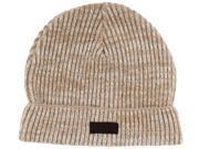 True Religion Jeans Men's 2 Tone Cashmere Knit Beanie Hat Watchcap