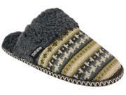 Muk Luks Fairisle Women s Knit Sweater Scuff Slippers