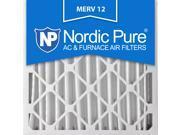 20x20x4 MERV 12 AC Furnace Filters Qty 2 9SIA7ZD3FX7392