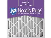 20x20x4 MERV 8 AC Furnace Filters Qty 2 9SIA7ZD3FX7388