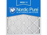 Nordic Pure 20x20x1 MERV 12 AC Furnace Air Filters Qty 3 9SIA7ZD2TM9470
