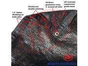 8 x 08 50% shade cloth shade fabric sun shade shade sail black color MN MS50 B0808
