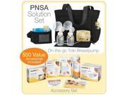 Medela Pump In Style Advanced On-the-go Tote Set w FREE ACCESSORIES