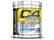 Cellucor C4 Mass Pre Workout Supplement, Carb & Creatine Muscle Builder for Size & Strength, 30 Servings, Icy Blue Razz