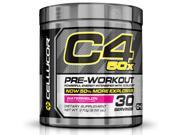Cellucor C4 50X Pre Workout Supplement, High Energy Preworkout Powder with XCELICOR, 30 Servings, Watermelon