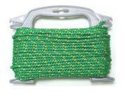 "The Lehigh MFP675-4W Poly Diamond Braid Rope, 3/16""x75'"