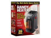 Handy Heater HEAT-MC12/4  Wall Heater, 350 watts, Black