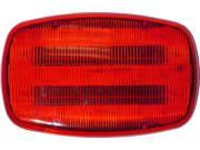 Peterson V316MR Battery-Operated Flashing Hazard Lights, Red