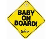 Safety 1St 489180030 Baby On Board Sign