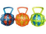 Chomper WB15519 TPR Ball Tug Dog Toy Assorted Colors