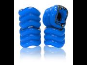 Shark Wheel Square Skateboard/Longboard Wheels (Blue 60mm)