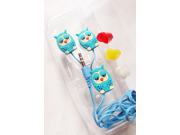 Creative Stereo earphones Owl style Cartoon mobile phone computer General In-Ear Audio-visual accessories & games headset 9SIA82V32A2948