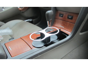 Vehicle-mounted Dual Water Beverage Holder 165*80*110mm ABS Convenient Cup/Drink Rack & Double Port Water Beverage Holder 9SIA82V3GP1514