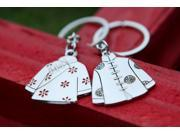 Creative Couples Style Key Chain 1 Pair Chinese Tang Suit Shape Zinc Alloy Key Chain/Keychains Key Ring 9SIA82V3PB0452