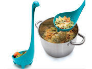 Little-known Filter Spoon Lifelike Dinosaur Shape Food Grade PP Colander Spoon Kitchen Tools Cartoon & Classic Filter Spoon
