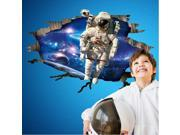 Creative Wall Stickers 60 * 90CM 3D Space Astronauts Background PVC Wall Stickers Decorative Painting Stereoscopic & Waterproof Wall Stickers