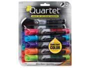 Quartet Anti Roll Dry Erase Assorted Markers
