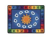 Image of Carpets for Kids Sunny Day Learn/Play Rctngle Rug