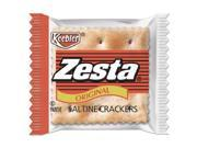 Zesta Saltine Crackers 2 Crackers Pack 500 Packs Carton