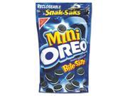 Oreo Minis Single Serve 8 oz Snak Sak