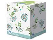 "Plus Lotion Facial Tissue White 1-Ply 8 1/5"""" x 8 2/5"""" 56/Box 24/Carton"" 9SIA0ZX5N09089"
